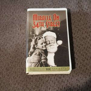 Miracle on 34th Street VHS
